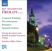 Album artwork for Frolov: Concert Fantasy / Divertissement / Romance