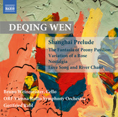 Album artwork for Deqing Wen: Orchestral Works