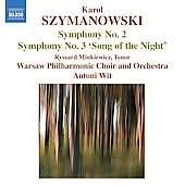 Album artwork for Szymanowski: Symphony No. 2 / Symphony No. 3