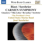 Album artwork for Bizet / Serebrier: Carmen Symphony
