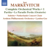 Album artwork for Markevitch: Orchestral Works Vol. 1 (Lyndon-Gee)