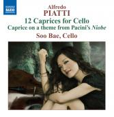 Album artwork for Piatti: 12 Caprices for Cello / Soo Bae