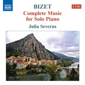 Album artwork for Bizet: Complete Music for Solo Piano - Severus