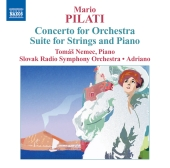 Album artwork for Pilati: Concerto for Orchestra (Nemec)