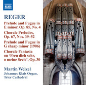 Album artwork for Reger: Organ Works Volume 10