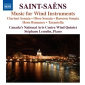 Album artwork for Saint-Saens: Music for Wind Instruments