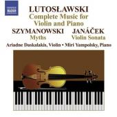 Album artwork for Lutoslawski: Complete Music for Violin and Piano
