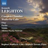 Album artwork for LEIGHTON: COMPLETE CHAMBER WORKS FOR CELLO