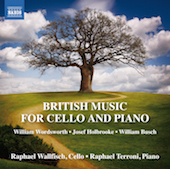 Album artwork for British Music for Cello