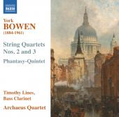 Album artwork for Bowen: String Quartets Nos. 2, 3