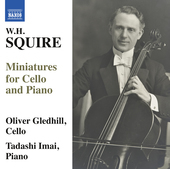 Album artwork for Squire: Miniatures for Cello & Piano
