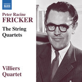 Album artwork for Fricker: The String Quartets