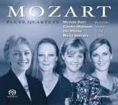 Album artwork for Mozart: Flute Quartets