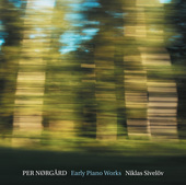 Album artwork for Per Nørgård: Early Piano Works