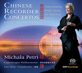 Album artwork for Chinese Recorder Concertos (Petri)
