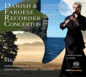 Album artwork for DANISH FAROESE RECORDER SONATAS