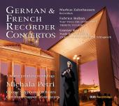 Album artwork for German & French Recorder Concertos / Petri