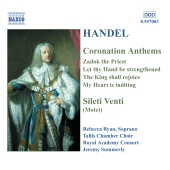Album artwork for Handel: Coronation Anthems, Silete Venti