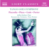 Album artwork for TANGO GOES SYMPHONY