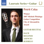 Album artwork for Petrit Ceku: Guitar Recital