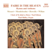 Album artwork for Faire Is The Heaven: Hymns & Anthems / St. John