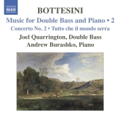 Album artwork for Bottesini: Music for Double Bass and Piano Vol. 2