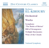 Album artwork for EL-KHOURY - ORCHESTRAL WORKS