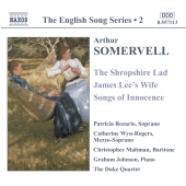 Album artwork for ENGLISH SONG SERIES 2 ARTHUR SOMERVELL