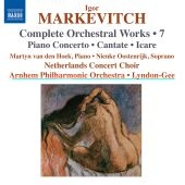 Album artwork for Markevitch: Complete Orchestral Works vol. 7