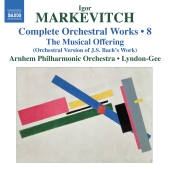 Album artwork for Igor Markevitch: Complete Orchestral Works vol. 8