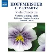 Album artwork for Viola Concertos by Hoffmeiter and C.P. Stamitz