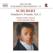 Album artwork for SCHUBERT'S FRIENDS, VOL. 2