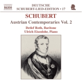 Album artwork for SCHUBERT: AUSTRIAN CONTEMPORARIES VOL. 2