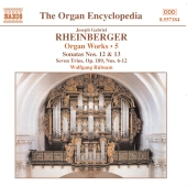 Album artwork for RHEINBERGER - ORGAN WORKS, VOL. 5