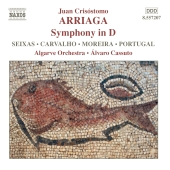 Album artwork for Arriaga: Symphony in D (Cassuto)