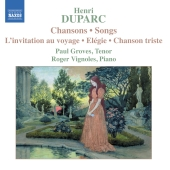 Album artwork for DUPARC - CHANSONS