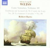 Album artwork for Weiss: Lute Sonatas vol.10 (Barto)