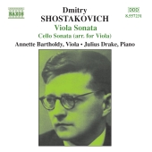 Album artwork for SHOSTAKOVICH: VIOLA SONATA, ETC.