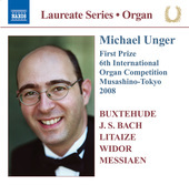 Album artwork for Michael Unger: Organ Recital (6th International O