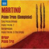 Album artwork for Martinu: Complete Piano Trios