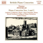 Album artwork for PITFIELD: PIANO CONCERTOS