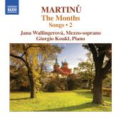 Album artwork for Martinu: Songs Vol. 2 - The Months