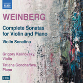 Album artwork for Weinberg: Complete Violin Sonatas - Violin Sonatin