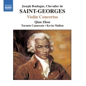Album artwork for Saint- Georges : VIOLIN CONCERTOS - 2