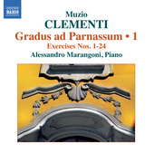 Album artwork for Clementi: Gradus ad Parnassum, Volume 1