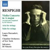 Album artwork for Respighi: Violin Concerto, Suite for Strings / Mar