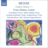 Album artwork for HENZE: GUITAR MUSIC VOL. 1