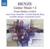 Album artwork for Henze: Guitar Music vol. 2
