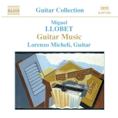 Album artwork for MIGUEL LLOBET GUITAR MUSIC
