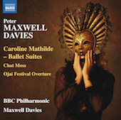 Album artwork for Maxwell Davies: Caroline Mathilde Suites